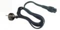Cable power tipo de trebol para carg/fuente notebooks