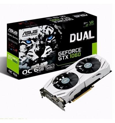 Placa Video Nvidia Asus Gtx 1060 Dual Ddr5 Gaming 6gb