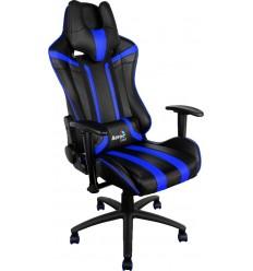 Silla Gamer Aerocool AC120 - Negro/Roja , Negra/ Azul
