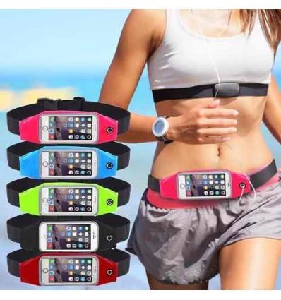Riñonera Grande Running Expandible Porta Celular Smart Phone