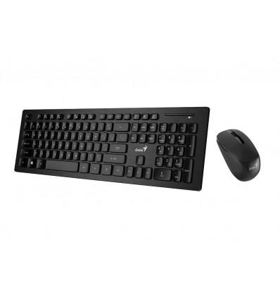 Kit Teclado Mouse Inalambrico Genius Slimstar 8008 Smart Tv