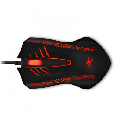 Sentey Flameon Mouse Gaming Series RGB - Ajustable Dpi 2400