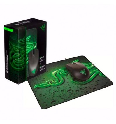 Combo Mouse Gamer Razer Abyssus Y Pad Goliathus Control