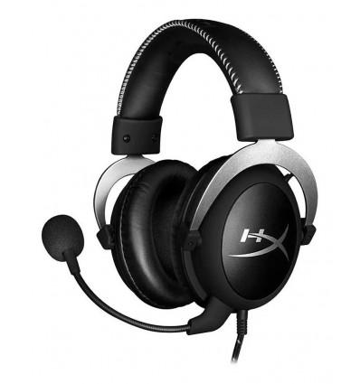 Auriculares Gamer Hyperx Cloud Silver Gaming Headset