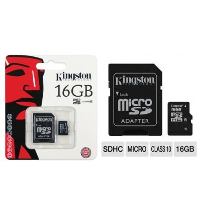 Memoria Micro SD Kingstone 16GB