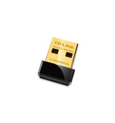 Adaptador USB Nano Inalámbrico N de 150Mbps TL-WN725N