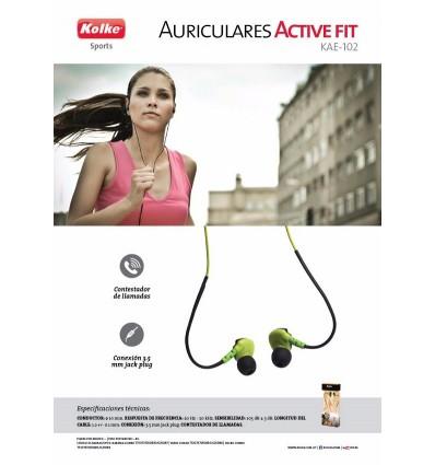 Auriculares Deportivos Kolke Active Fit