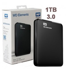 Disco Externo WD Elements 1TB + Funda Porta disco Bags de regalo!!!