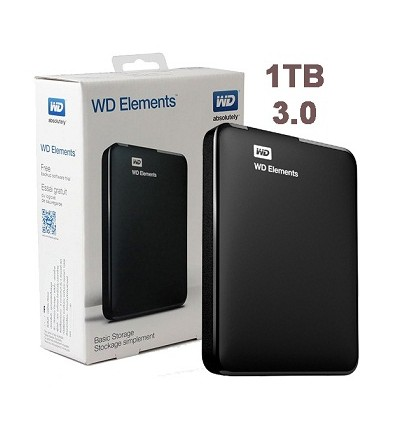 Disco Externo WD Elements 1TB