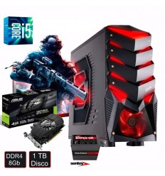 PC GAMER | CORE I5-6400 | RAM 8GB DDR4| 1TB | ASUS GeForce 1050i 4GB ddr5...