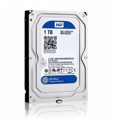 "Disco Duro 2Tb para PC WD Blue 5400 RPM SATA 6 Gb/s 64MB Cache 3.5"""
