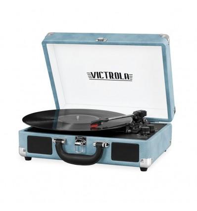 Tocadisco Vintage Retro Okly Okn019 Usb Parlante Aux