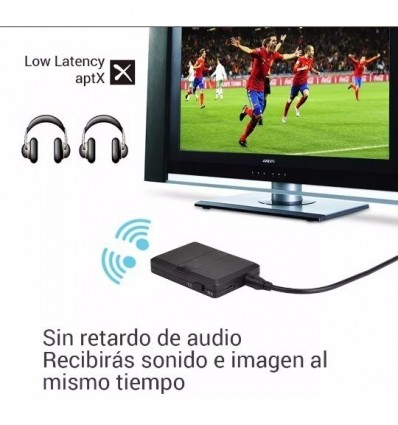 Transmisor Emisor Receptor Bluetooth Audio Smart Tv V4.0