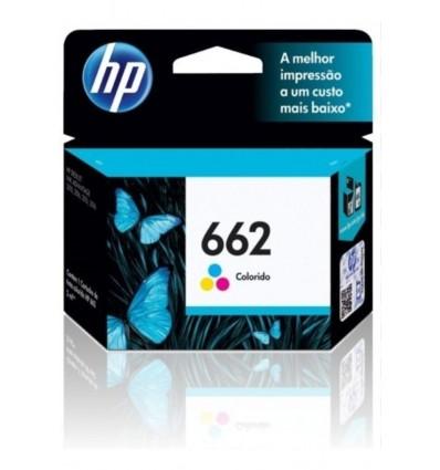 CARTUCHO HP 662 TRICOLOR