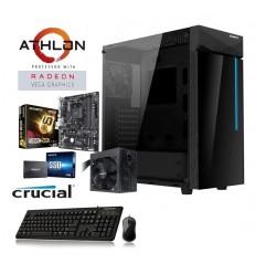 Pc Gamer Gigabyte | Amd Athlon 3000g | B350 |8GB | Ssd 240 | W10