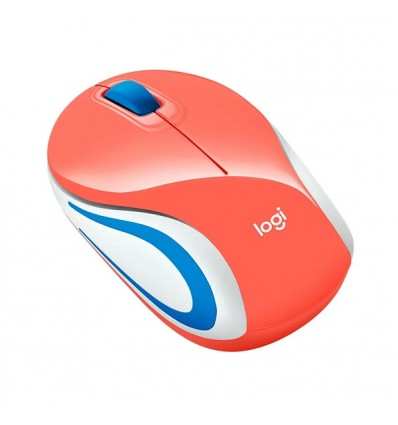 Mouse Logitech M187 Optico Usb Inalambrico ROSA
