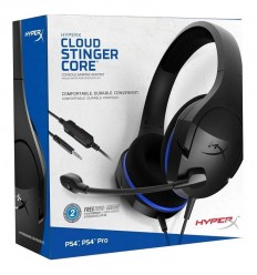 Auriculares Gamer Hyperx Stinger Core Micrófono Ps4 ...