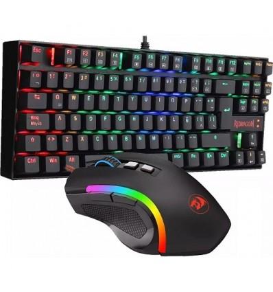 Kit Gamer Teclado Kumara Rgb Y Mouse M607 Gaming K552rgb-ba
