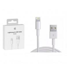 Cable Usb Lightning iPhone 5s 5c 6 6s 7 8 X Xs Max Plus Original Sellados En Caja - 1 Metro