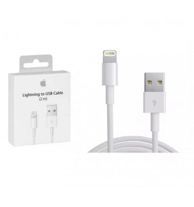 Cable 2 Metros iPhone 8 7 Plus 6s Se Xs Lightning Original