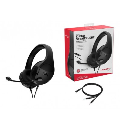 Auriculares Headset Hyperx Stinger Core Pc Xbox Ps4 Celular