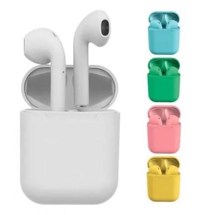 Auriculares Bluetooth 5.0 Inpods 12 I12 Tws Colores