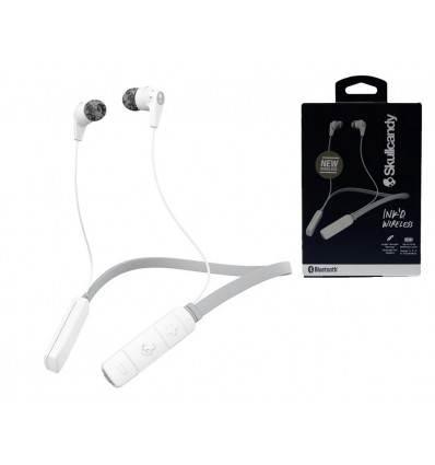 Auriculares Skullcandy Ink'd Wireless White 8 Horas