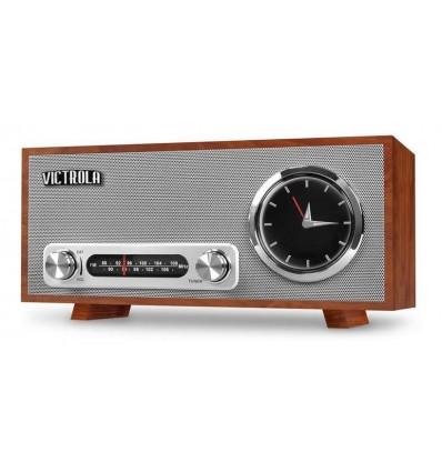 Radio Reloj Analog Victrola Broadway Bluetooth