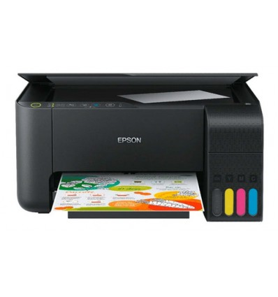 Impresora a color multifunción Epson EcoTank L3150 con wifi