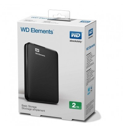 Disco Externo WD Elements 2TB