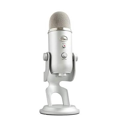 Micrófono Profesional Blue Yeti Condensador Usb Estéreo Pce