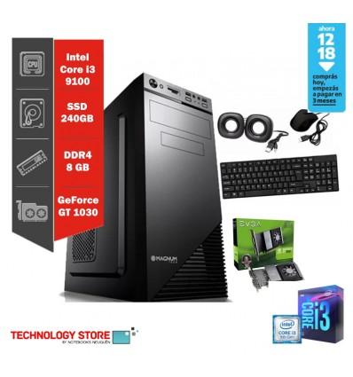 PC GAMERi5 | CORE I5-9400 | RAM 8GB |GeForce 1660 6GB | Gab. Cylon