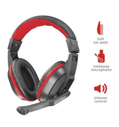 Auricular Trust Ziva Gaming Headset Microfono Pc Gamer