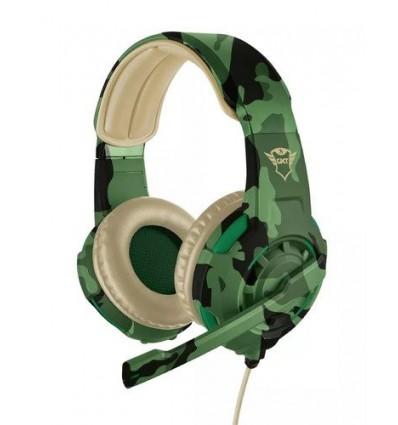 Auricular Gamer Trust Gxt 310d Radius Headset Desert Camo