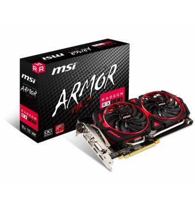 Placa De Video Amd Msi Radeon Rx 580 Armor 8gb Oc Edition