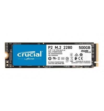 Disco sólido interno Crucial CT500P2SSD8 500GB NVMe M.2