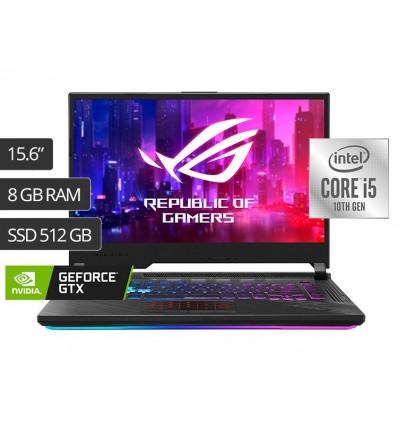 Notebook Asus ROG Strix G512LI | Intel Core i5-10300H| 8GB | 512GB SSD | NVIDIA GeForce GTX 1650Ti 144 Hz 1920x1080px | 15.6