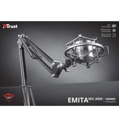 Brazo de micrófono ajustable Trust Gxt253 Emita