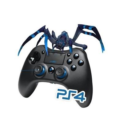 Level Up Tarantula Gamepad Ps4 Ps3 Pc Bluetooth / Cable