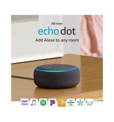 Amazon Echo Dot 3rd Gen con asistente virtual Alexa sandstone 110V/240V