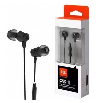 Auricular Jbl In Ear Con Mic Sonido Hi Fi C50hi Headphones