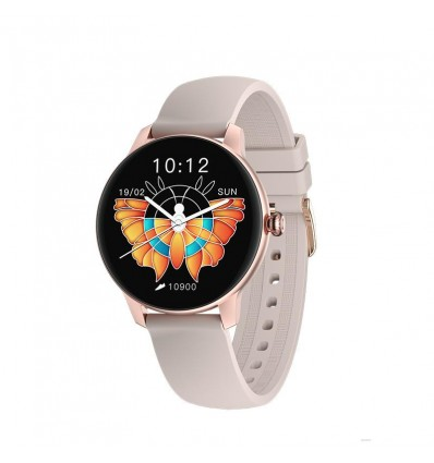 Reloj Xiaomi Imilab Smart Watch W11 Rose Gold+malla Purpura